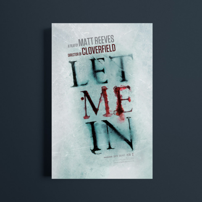 Let Me In Film Poster